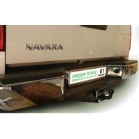 ТСУ для NISSAN NAVARA Double Cab (D40) (со ступенькой) 2005-