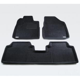 3D Ковры BMW 5 (E60) (2003-) резиновый подпятник черные