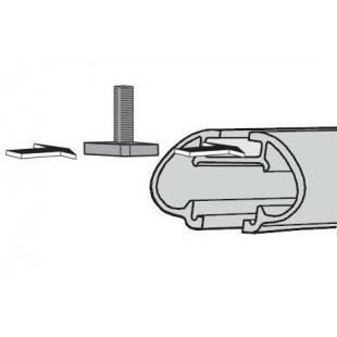 Адаптер для T-профиля (30х23мм) (1 к-т)