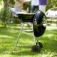 Гриль-барбекю угольный Weber Compact Kettle 47 см, черный